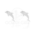 Brinco Golfinho em Prata 925