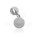 Berloque Emoji Feliz em Prata 925