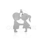 Pingente Namorados em Prata 925 PPI05005