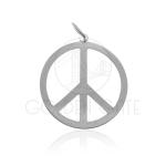 Pingente Paz em Prata 925