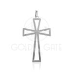 Pingente Cruz em Prata 925 (Prata de Lei) PPI08004