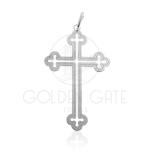 Pingente Cruz em Prata 925 (Prata de Lei) PPI08007