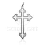Pingente Cruz em Prata 925 (Prata de Lei) PPI08013