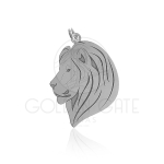 Pingente Cabeça de Leão em Prata 925