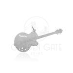 Pingente Guitarra em Prata 925 PPI10007