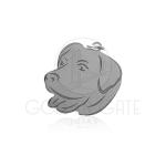Pingente Cabeça de Cachorro em Prata 925