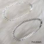 Pulseira Masculina Grumet Modelo Italiano em Prata 925 PUL0GM5