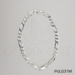 Pulseira Masculina de Prata 925 3x1 Modelo Italiano